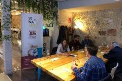 Cata de VIñaver en el Restaurante París el 18/10/2018